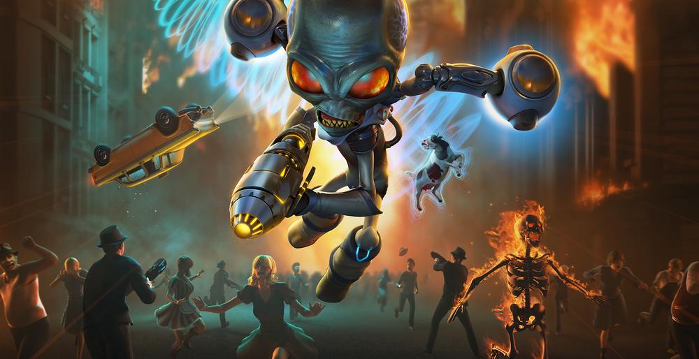 Самые ожидаемые игры 2020 года: Destroy All Humans! Remake