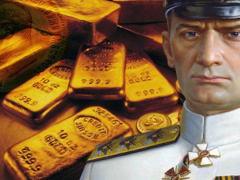 7 фактов про золото Колчака