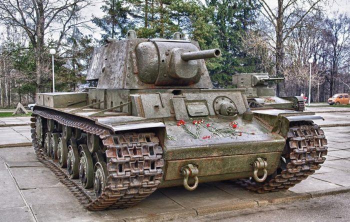 КВ-1 в музее