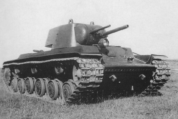 7 фактов про тяжёлый советский танк КВ-1