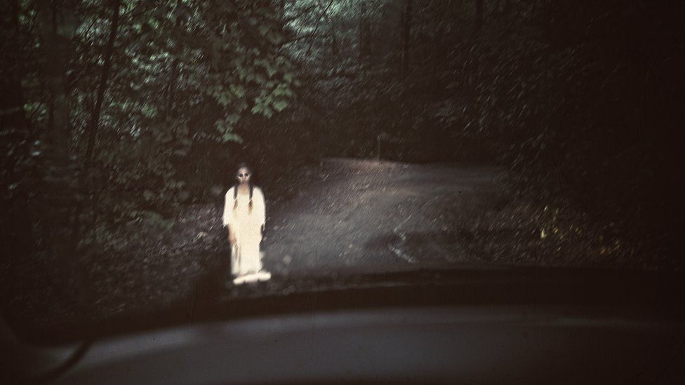 является мистика на дороге реальное фото известно